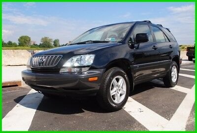2002 Lexus RX  Repairable Rebuildable Salvage Wrecked Runs Drives EZ Project Needs Fix Save Big
