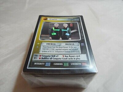 Star Trek Ccg Reflections Complete Master Set Including Ultra Rares