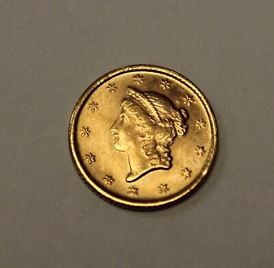 ( 1 ) 1851 $1 Gold Coin - Type 1 - Lot# G48