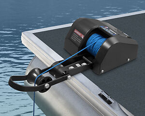 BLEMISHED TRAC Pontoon 35lb Electric Anchor Winch Freshwater T10109-35