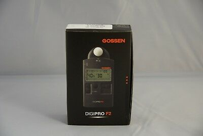 Brand New In Box - Gossen DigiPro F2 - Flash and Ambient Light Meter