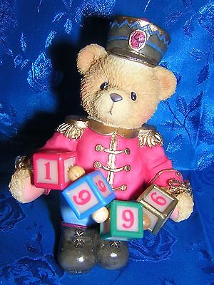 CHERISHED TEDDIES JEFFREY 1996 Dated Figurine  NEW & Never Displayed