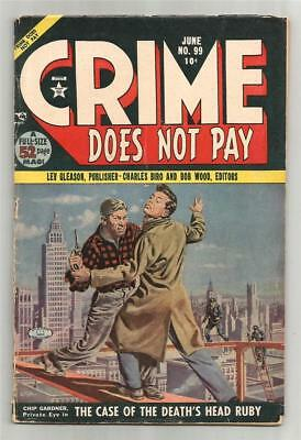 Crime Does Not Pay #99, June 1951