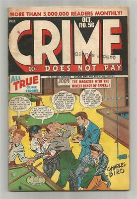 Crime Does Not Pay #56, Oct. 1947