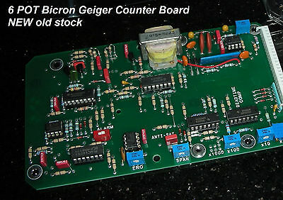 New High Quality COMMERCIAL Grade Bicron board , switch, METER  #6 POT BOARD KIT