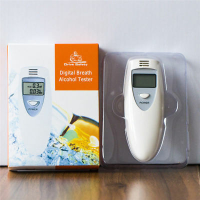Breathalyzer  Portable MINI LCD Digital Alcohol Breath Tester Analyzer