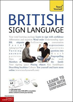 British Sign Language: Teach Yourself: Book and DVD Pack (Paperba. 9780340991329