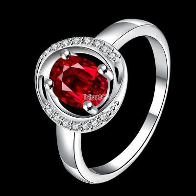 Women's Simple Style Silver Plated Fashion Elegant Wedding Ring Ring 4