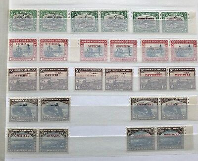 South West Africa / Suidwes-Afrika - Official / Offiseel - mint - top collection