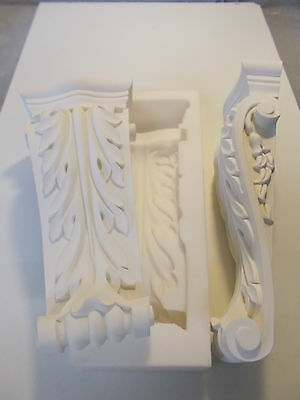 Silicone Rubber Mould Ornate Long Corbels Diy Furniture Fire Place Create