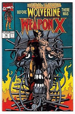 MARVEL COMICS PRESENTS #72 (NM+) WEAPON-X! (Origin) WOLVERINE! Barry Smith! 1991