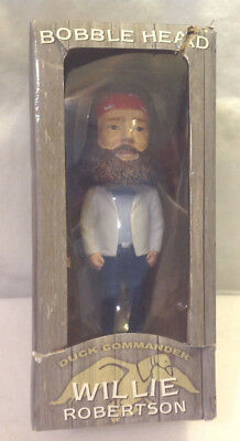 Willie Robertson Duck Commander Bobble Head Doll Figurine Collectible