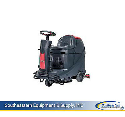 """New Viper AS530R 21"""" Battery Rider Scrubber"""