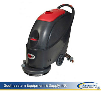 """New Viper AS510B 20"""" Battery Compact Scrubber"""