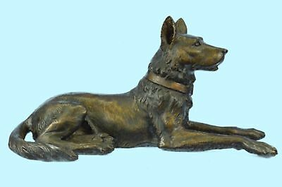 Sculpture Statue BASENJI DOG Figurine Hand Painted Pure Gift Pet Lovers Sale Br