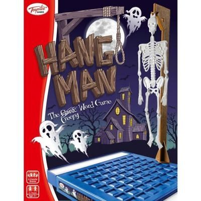 Hangman Childrens Kids 3D Word Guess Halloween Party Creepy Board Game Ty5497