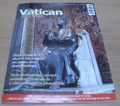 The Vatican Past & Present magazine Issue #29 2017 Pope Francis on Art & more