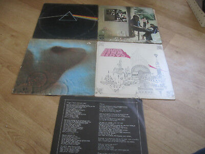 Pink Floyd Record Album Lp Collection The Dark Side Of The Moon