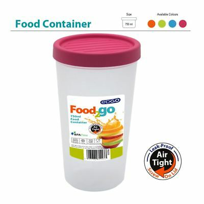 750ml BPA Free Food Container Smoothie Soup Beaker Leak Proof Airtight Cup Lunch