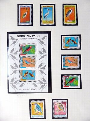 BURKINA FASO Birds U/M NB3553
