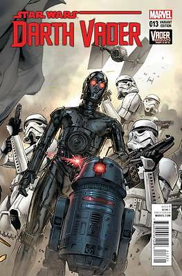 DARTH VADER #13, MANN CONNECTING VARIANT, New, First Print, Marvel Comics (2015)