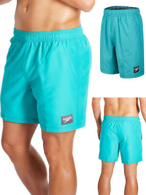 Speedo Check Trim 8-09264B594 Mens Quick Dry Swim Leisure Shorts Trunks S-2XL