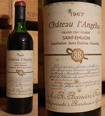 1967er Chateau l'Angelus - Saint Emilion Grand Cru Classe - TOP  !!!!!