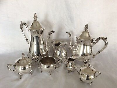 Fine Quality VINERS Of Sheffield Large 9pc Silver Plated Tea & Coffee Set C.1930