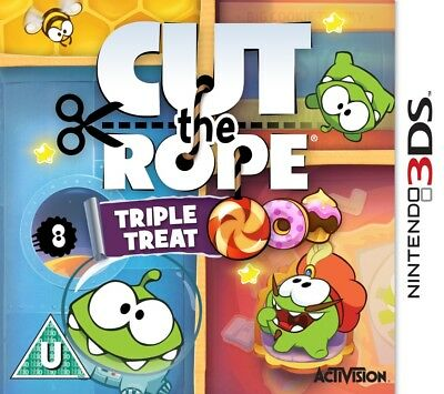 Cut the Rope: Triple Treat (Nintendo 3DS) NEW & Sealed