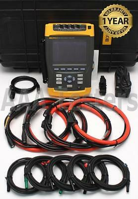 Fluke 435 Three Phase Power Quality Analyzer Meter w/ Interharmonics Inrush