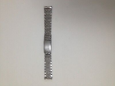 Men's Omega Beads of Rice Watch Bracelet 18mm Ref 1037