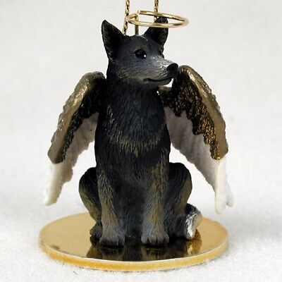 Australian Cattle Dog Blue Dog ANGEL Tiny One Ornament Figurine Statue
