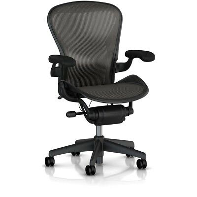 Herman Miller Classic Aeron Chair - Fully Adjustable, Size B