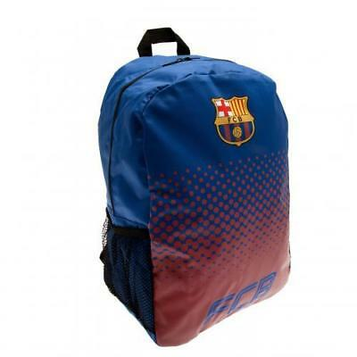 Fc Barcelona Backpack School Bag Rucksack  Holdall