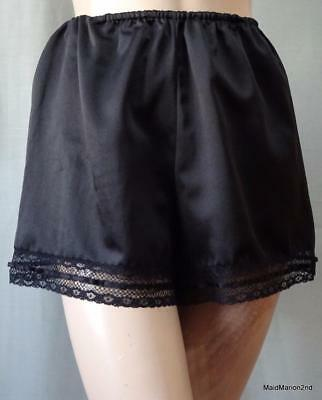 CHRISTIAN DIOR SILKY SOFT BLACK FRENCH KNICKERS PANTIES Med      o