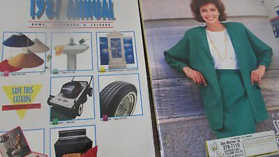 Sears Catalogs  Two Of Them 1987