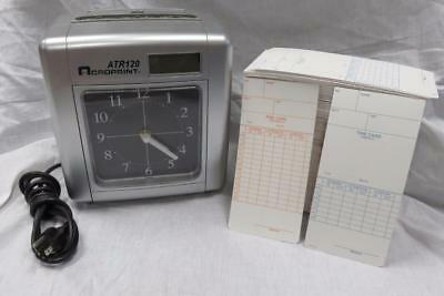 Acroprint Time Clock with Time Cards ATR120 Top Loading Payroll Recorder