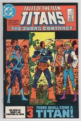 Tales of the Teen Titans #44 DC Comic Book 1984 VF First appearance Nightwing
