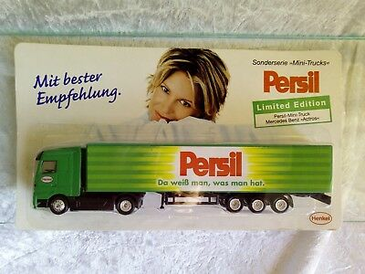 Persil limited Edition LKW Advertising Truck Collection Werbetruck Commercial