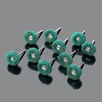 Abrasive Shank for Craft Use 10Pcs Polishing Rotary Buffer Pads Grinding Wheel