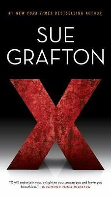 A Kinsey Millhone Novel: X by Sue Grafton (2016, Paperback)