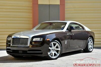 2014 Rolls-Royce Wraith Base Coupe 2-Door Rolls-Royce Wraith Bespoke Upgrades! Wraith Package! 1 Owner! $1775 mth. mth.*