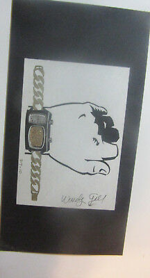 Wendy Gell  Dick Tracy Sample Board Paved Radio Watch original art