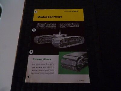 Neal Unit Undercarriage Nu 1620 Technical Data Ref 2604 Leaflet/pamphlet *read*
