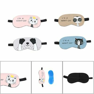 Relax Sleeping Blindfold SoftEye Mask rembourré Sleep Travel Shade Cover