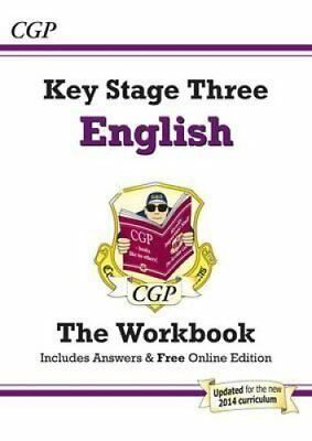 KS3 English Workbook (with Answers) by CGP Books 9781847622587 (Paperback, 2009)