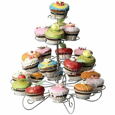4 Tier Cupcake Stand Muffin Holder Wedding Birthday Party Display Table Décor