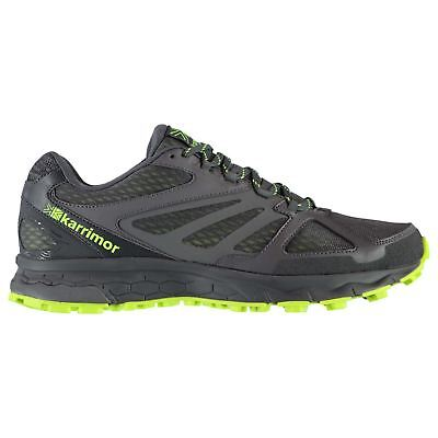 Karrimor Mens Tempo 5 Trail Running Shoes Lace Up Lightweight Mesh Upper