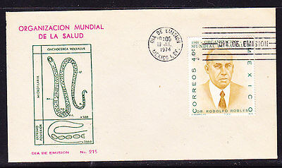 Mexico 1974 Mariano Azuela First Day Cover.- Unaddressed