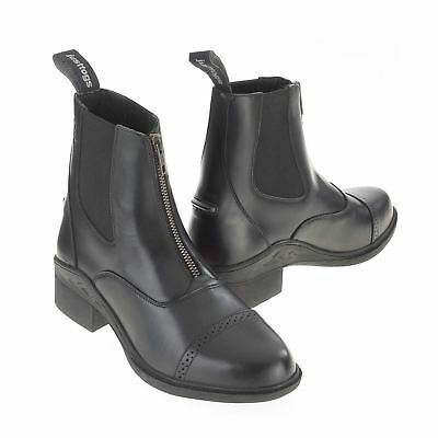 Just Togs Womens Beaumont Zip Boots Jodhpur